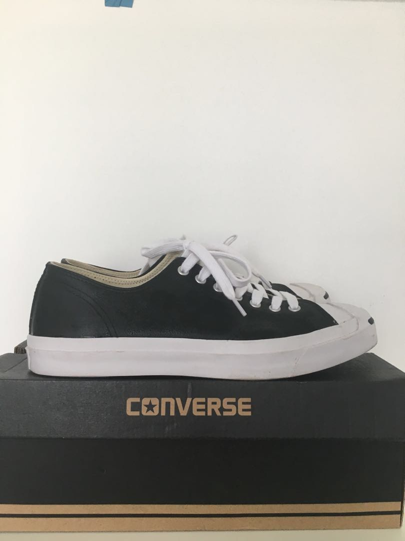 8cff24895632 Converse Jack Purcell Leather Ox