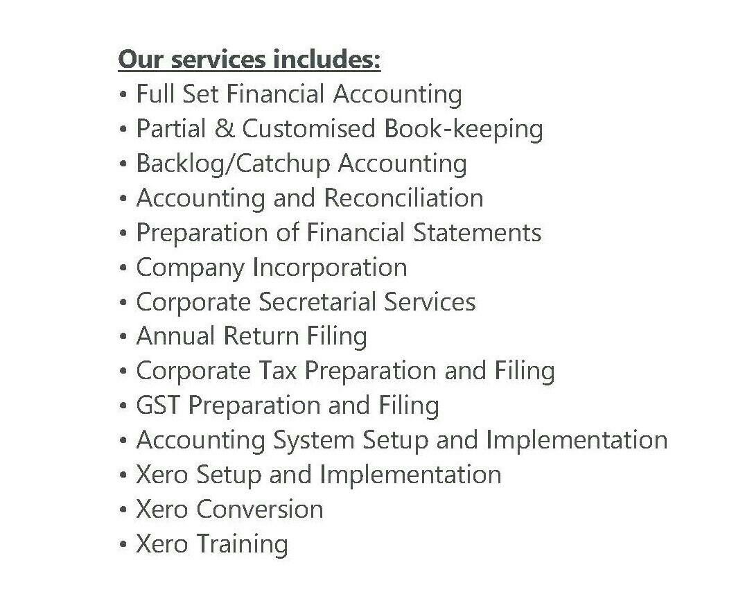 CPA Providing Accounting & Tax Services