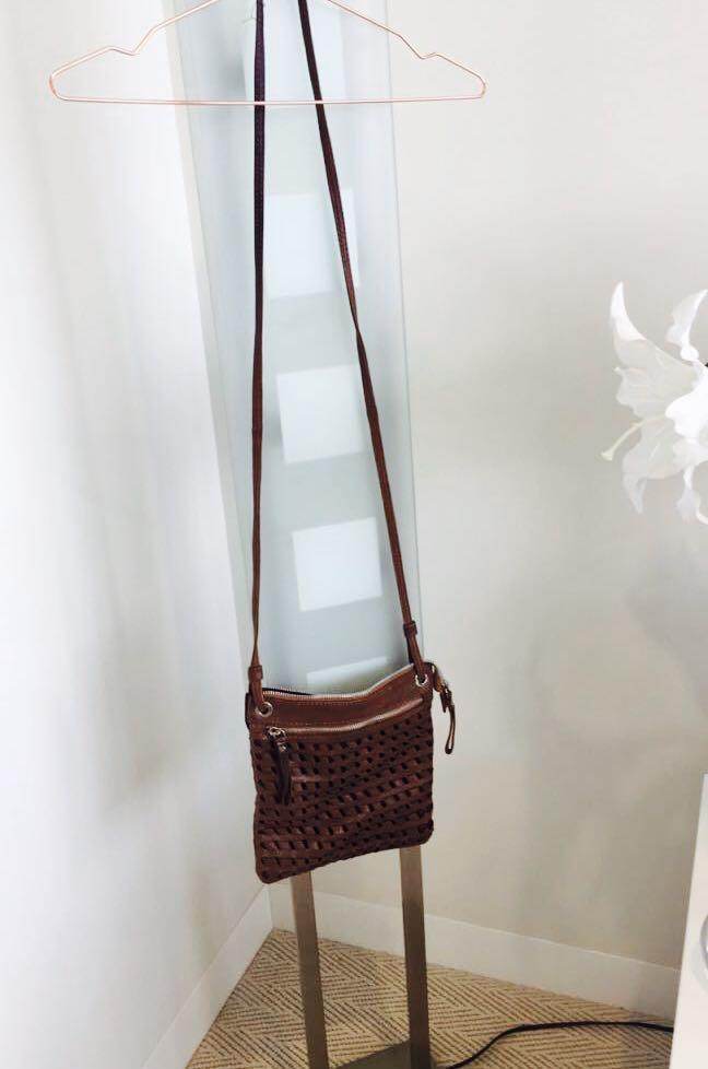 Crossbody satchel