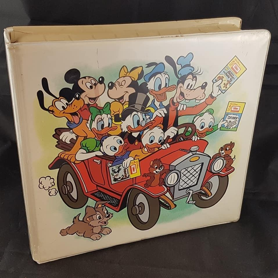 Disneyland take along books and cassettes in original case.
