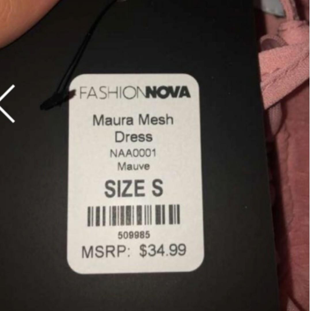 Fashion Nova Maura Dress in Pink