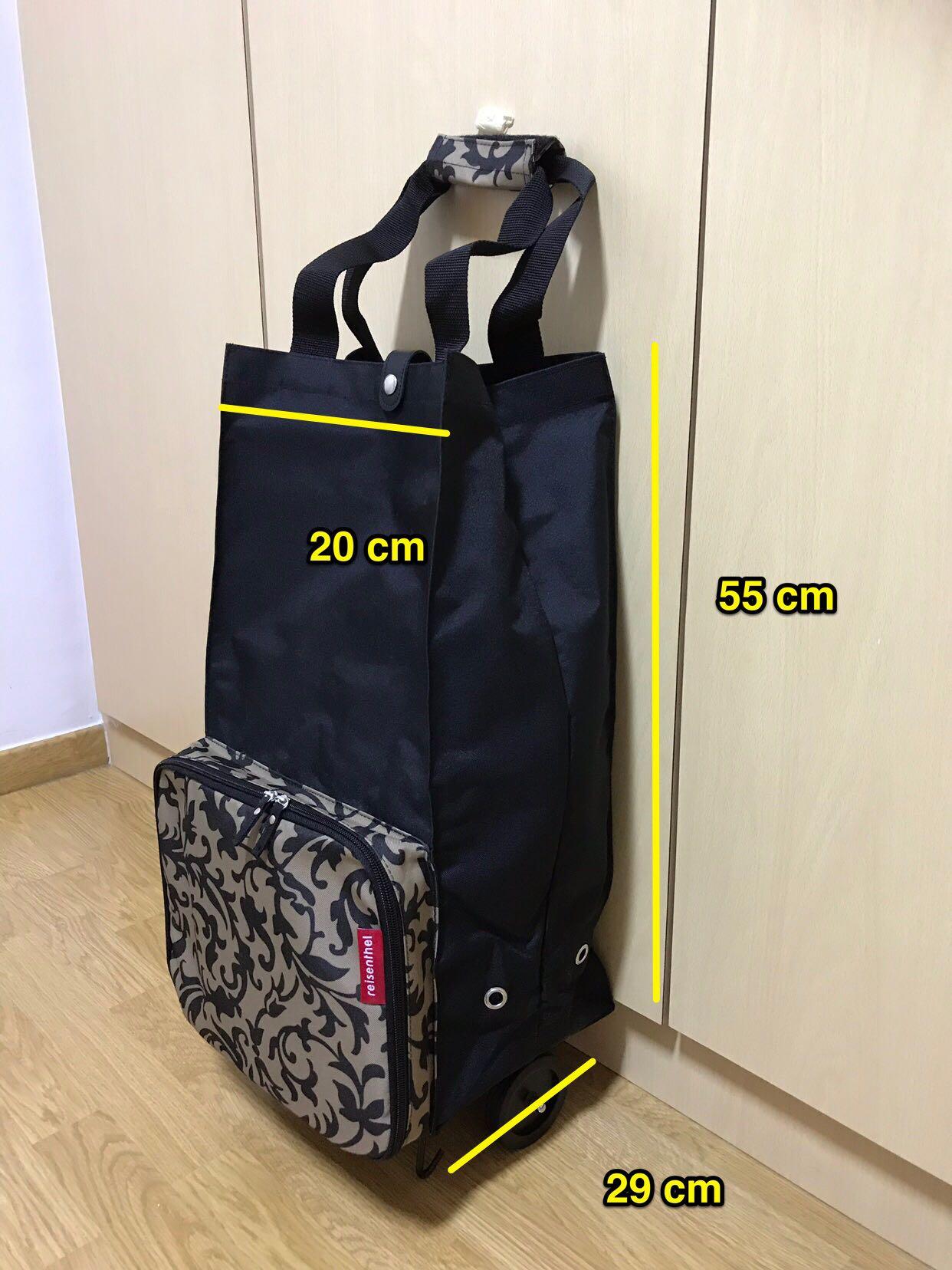 dc0c0c6d7 Foldable shopping trolley bag , Women's Fashion, Bags & Wallets, Handbags  on Carousell