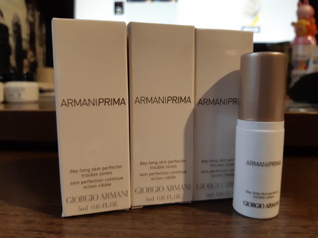 �ล�าร���หารู��า�สำหรั� Armani Prima Day-Long Skin Perfector Trouble Zone