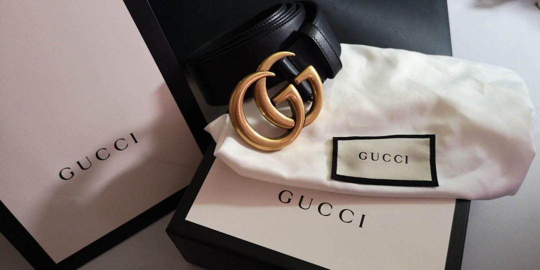 77bbe1d12a01 Gucci Belt 95cm, Luxury, Accessories, Belts on Carousell