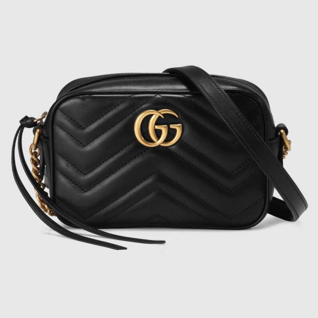 ef207b7613d Gucci GG Marmont matelassé mini bag