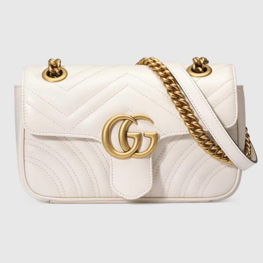 bcc035ae7e30a Gucci GG Marmont matelassé mini bag