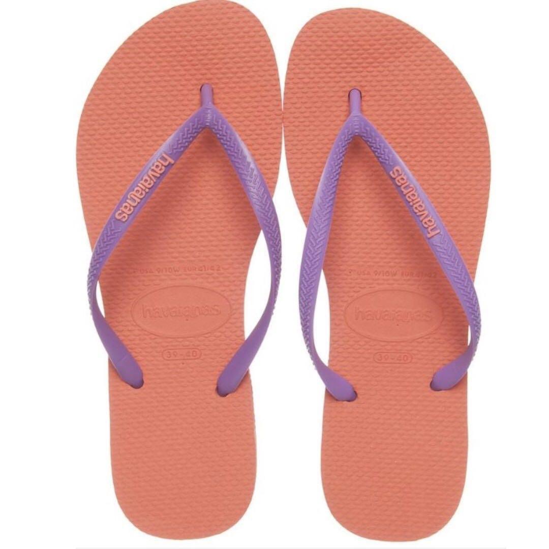 3738c7911008 Havaianas Coral Slim Thongs BR 35 36