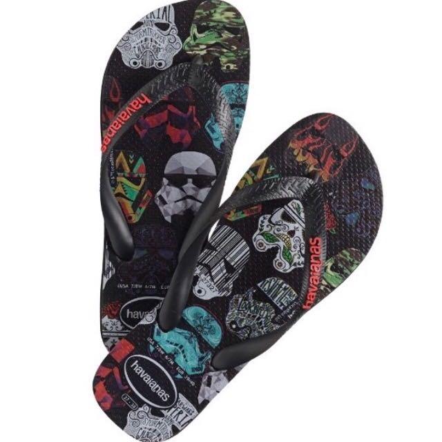 cd999811bdff1d Havaianas Mens Star Wars Slippers Flip Flop