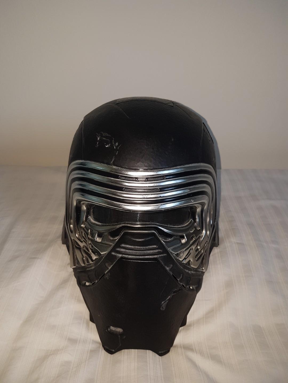 Kylo Ren helmet with voice changer