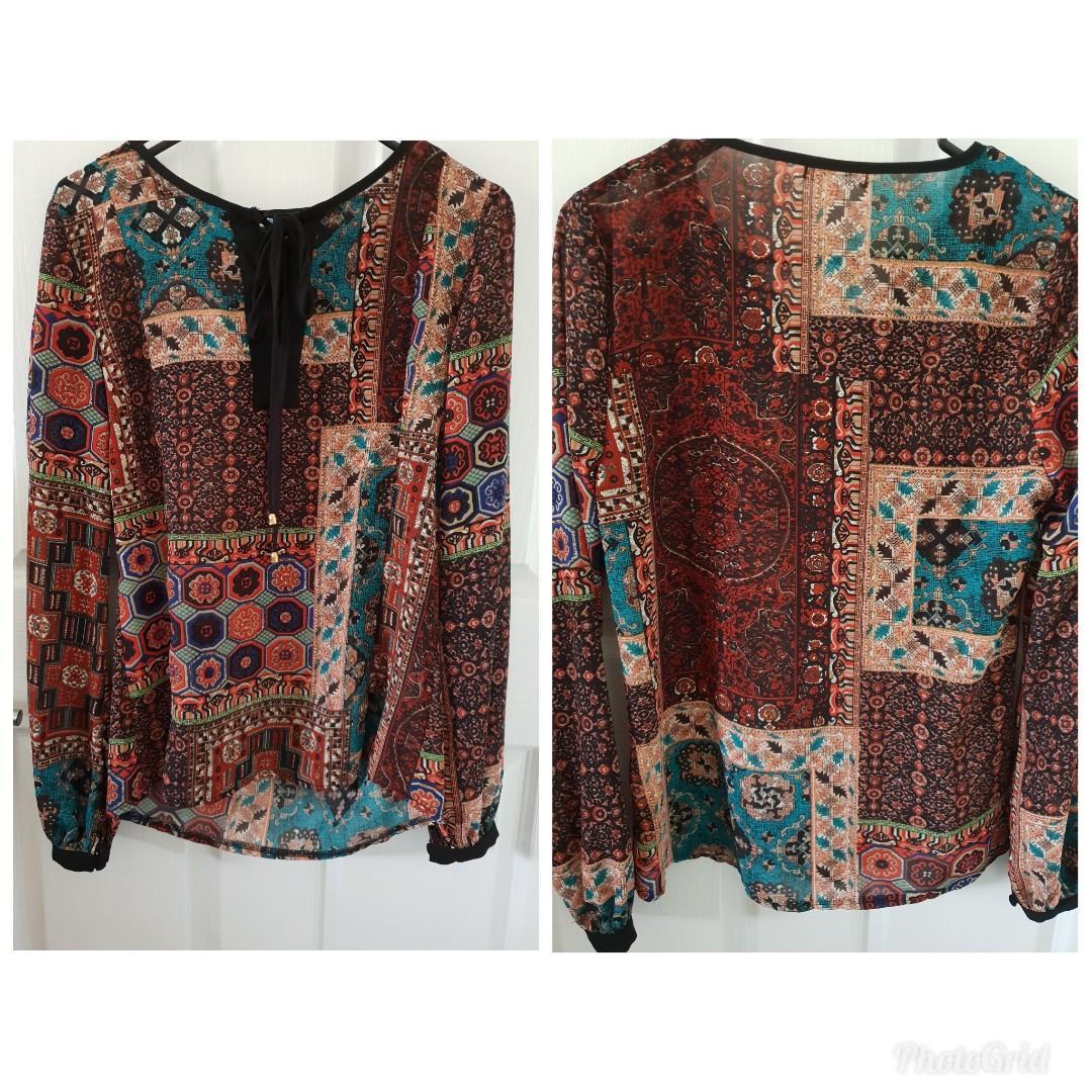 LADAKH KATHERINE BOUTIQUE LABELS shirt blouse tops casual dressy
