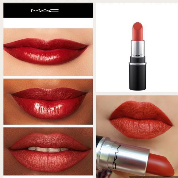 MAC Lipstick in Chili, Health & Beauty, Makeup on Carousell
