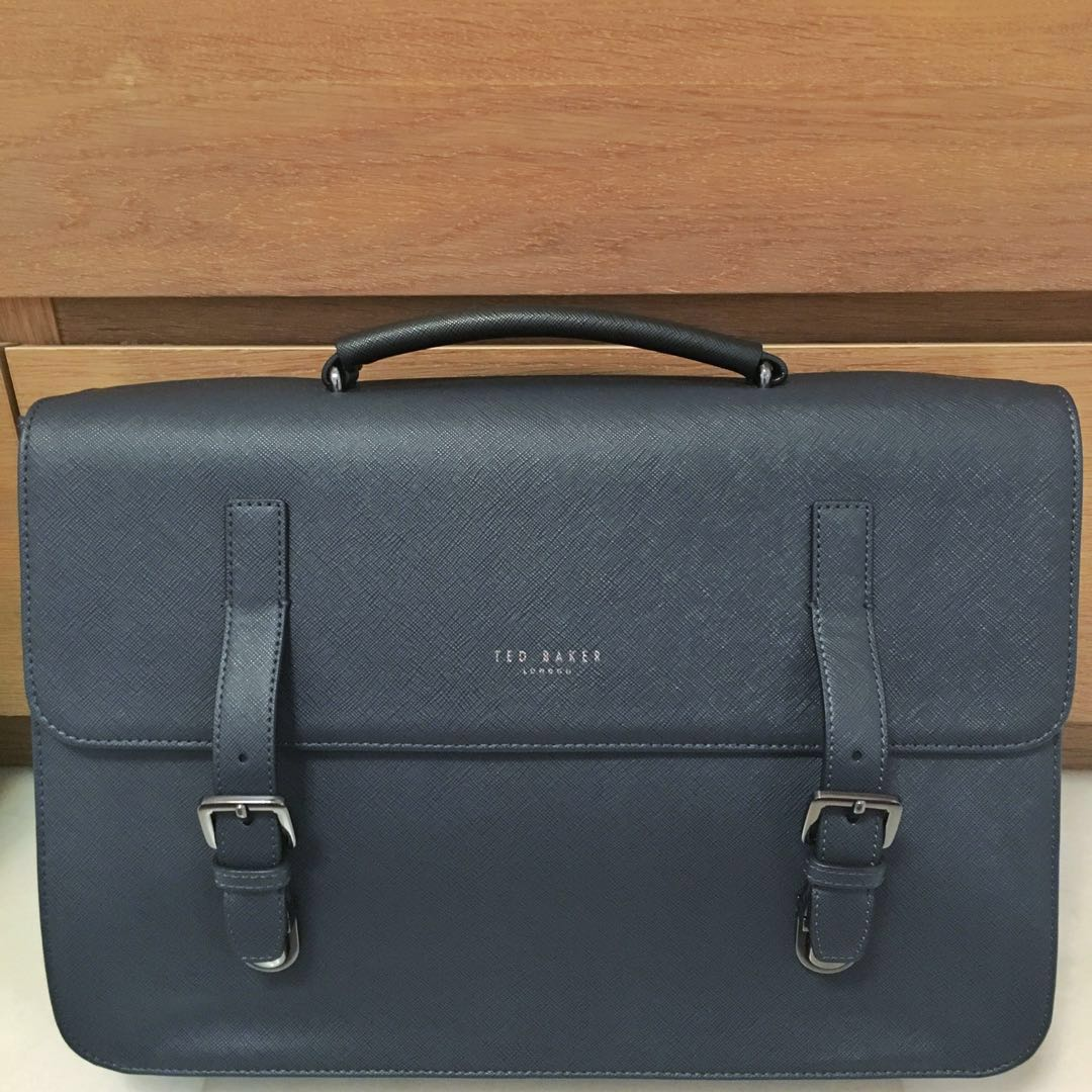 8a228dafaa Navy Blue Ted Baker Mens Briefcase #SpringCleanAndCarousell50, Men's ...
