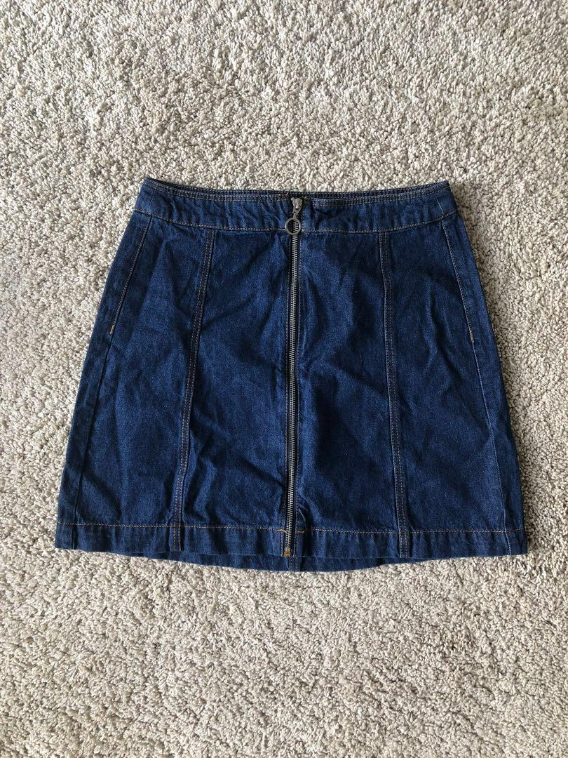 NEW Jeans Skirt by h&m