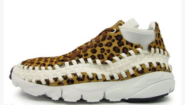 online store fd5a0 96823 Nike Air Footscape Woven Chukka Motion Leopard 豹紋11K, Men s Fashion, Men s  Footwear on Carousell