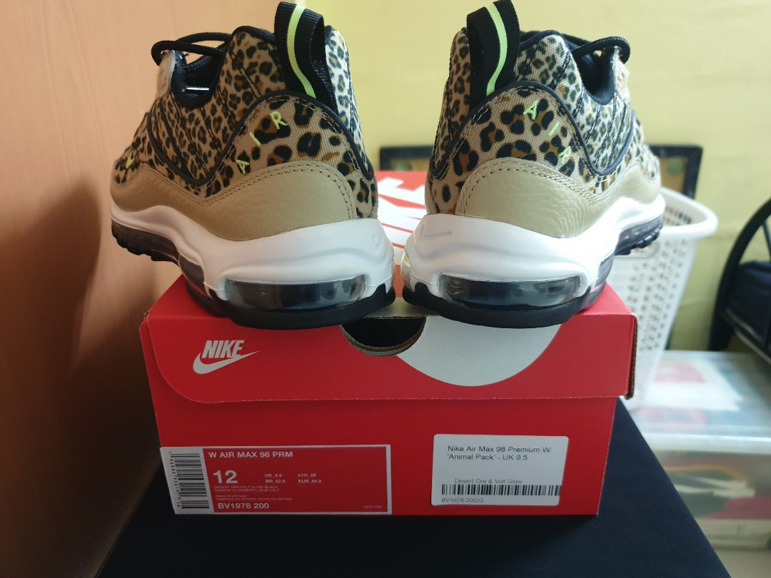 82651780bd Nike Air Max 98 Premium W 'Animal Pack', Men's Fashion, Footwear, Sneakers  on Carousell