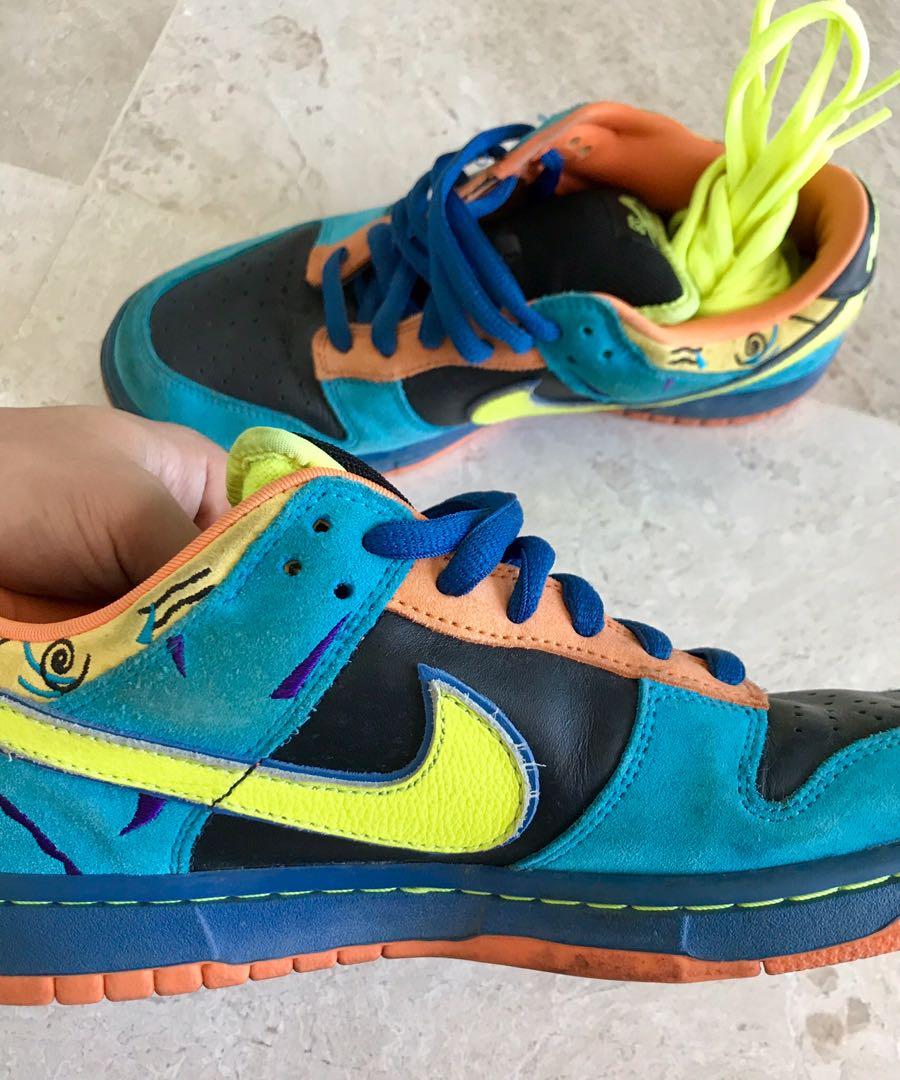 "super popular 54d71 991ed Nike Dunk Low Pro SB ""Skate or Die"", Men s Fashion, Footwear, Sneakers on  Carousell"