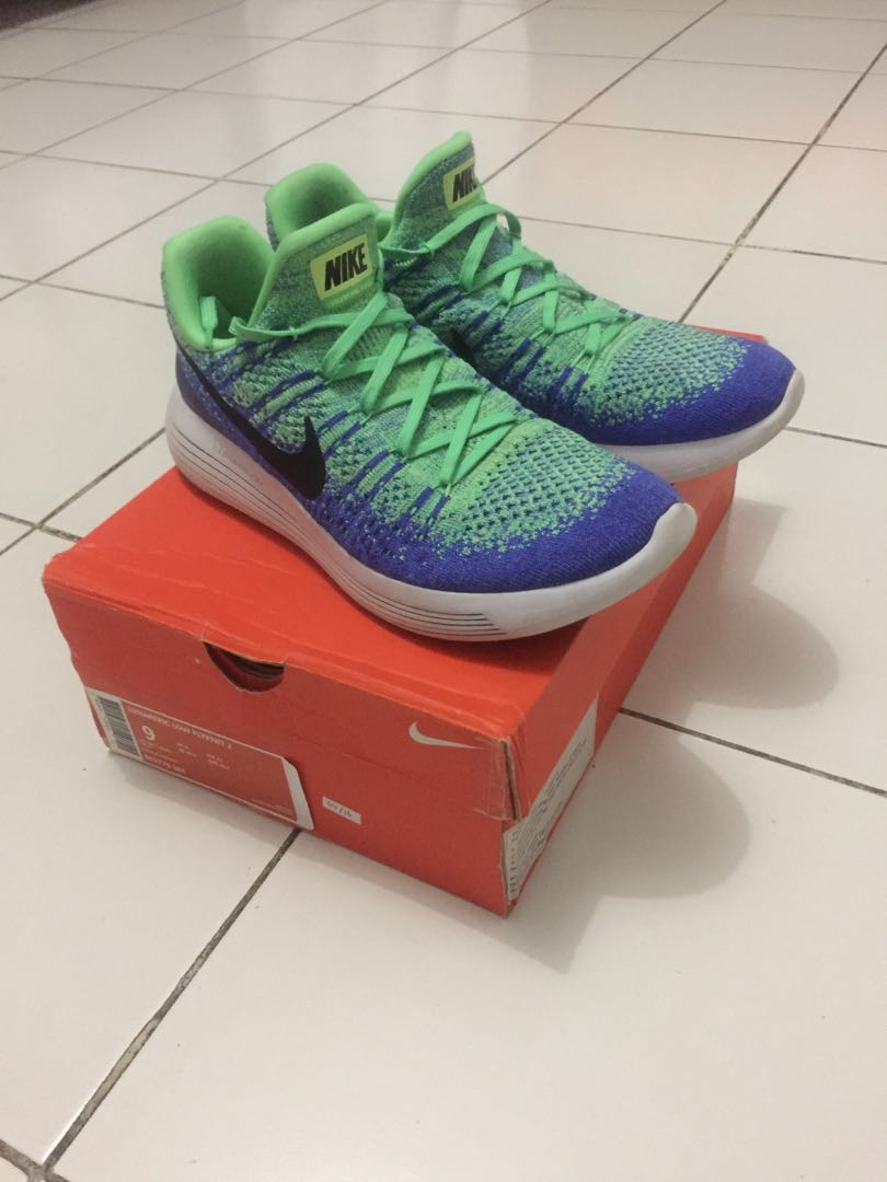ecf29d7826aff Nike Running Lunar Epic Low Flyknit 2 Sepatu Lari
