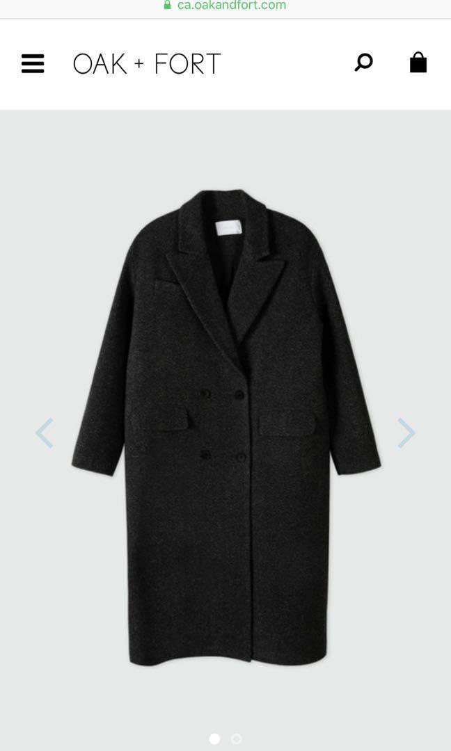 OAK+FORT GREY COAT