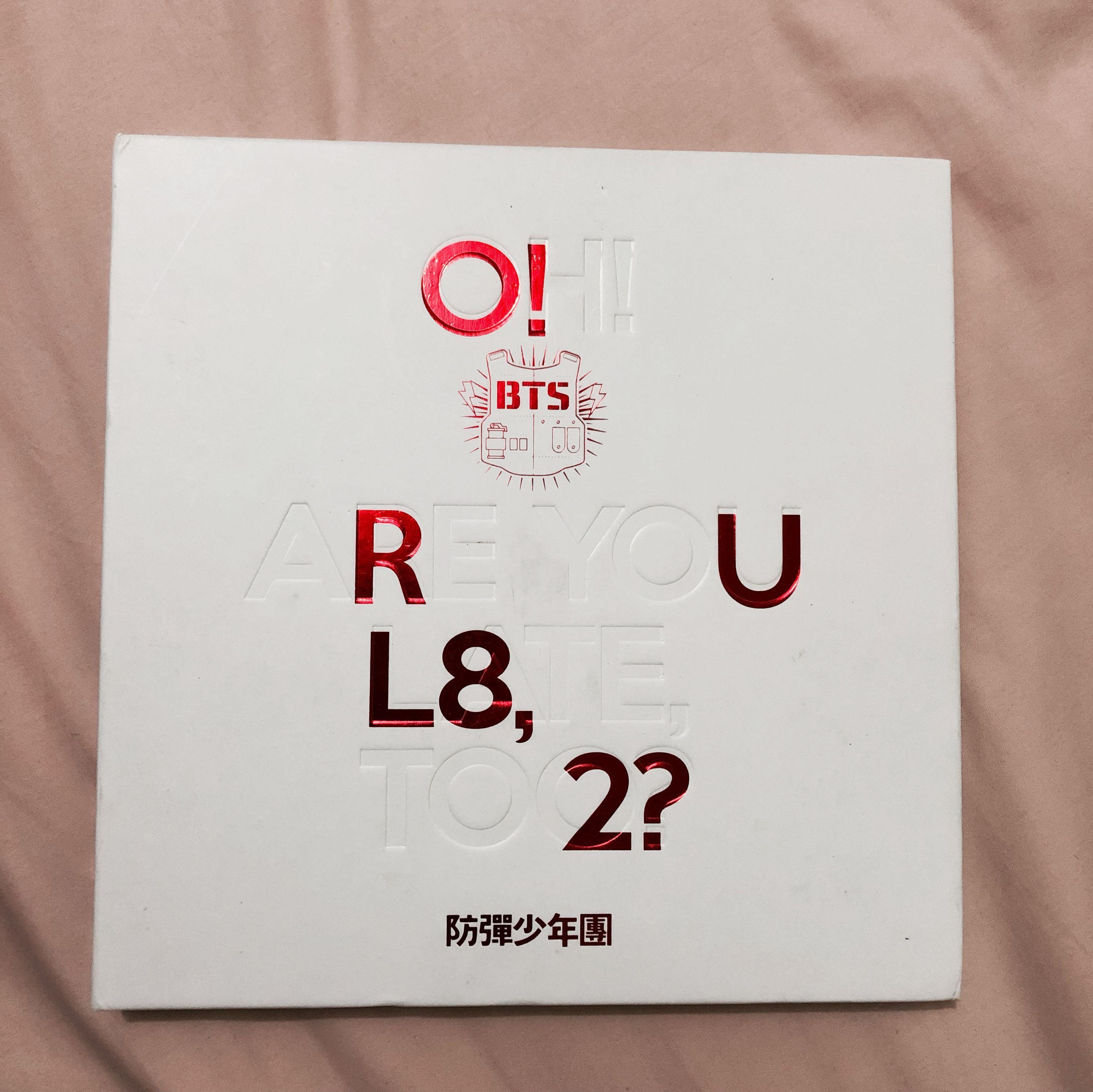 O Rul8 2 Bts Album Entertainment K Wave On Carousell