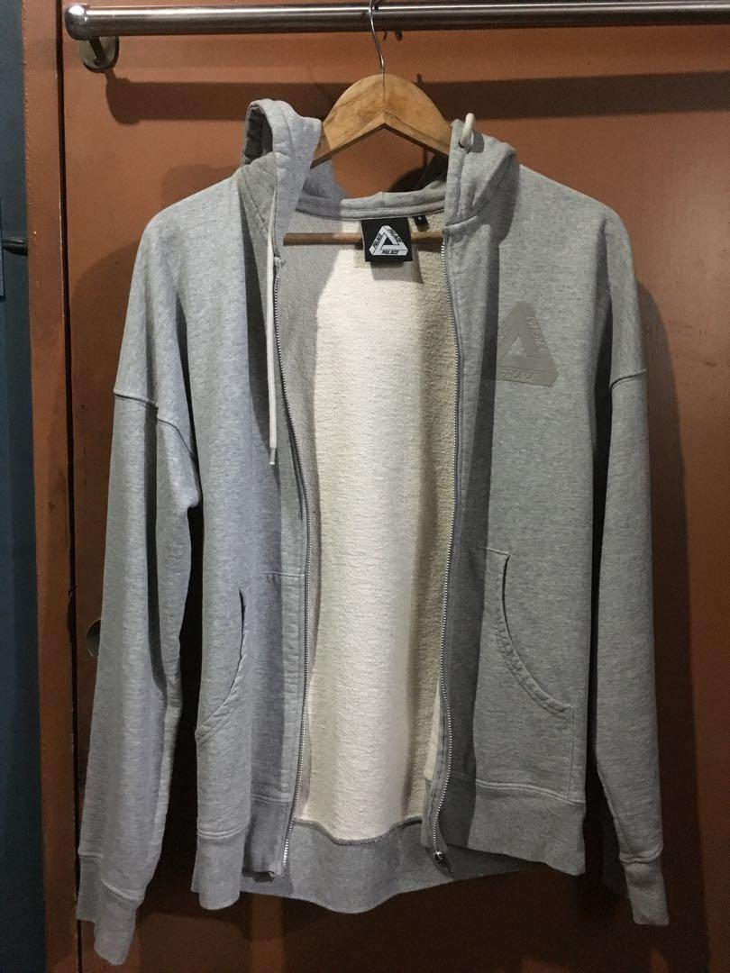 2d55dbbfa8b2 Palace 2015 Performance Hoodie Zip Grey on Carousell