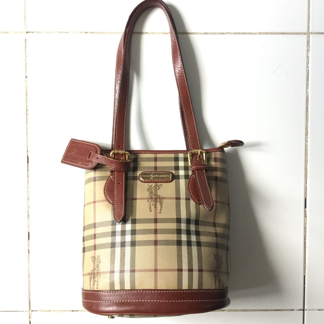 8ed02cd0fc53 PLOVED  Vintage Authentic Santa Roberta by Ralph Lauren Bucket Bag ...