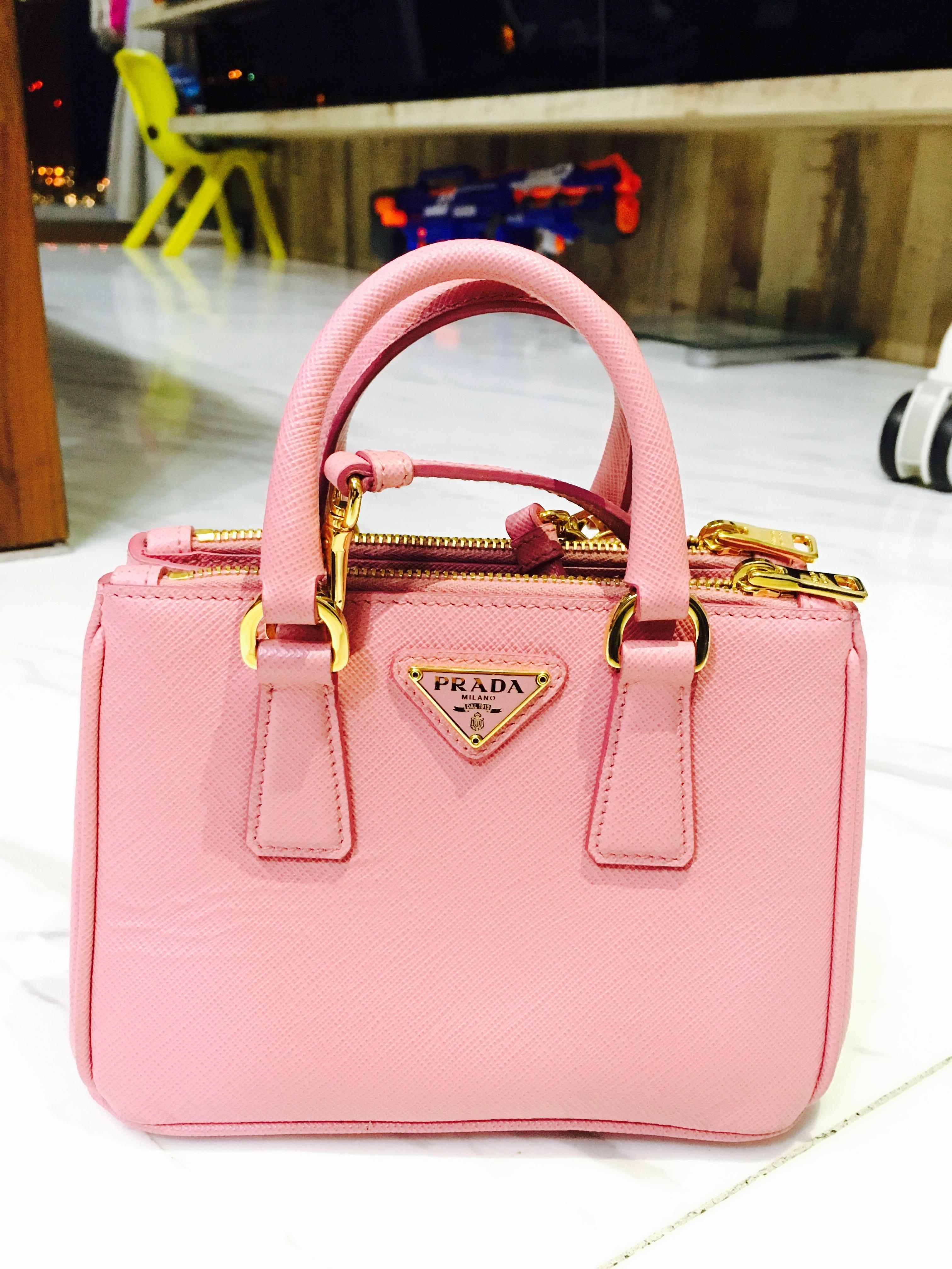 cff210b29b78eb Prada Saffiano Bag, Women's Fashion, Bags & Wallets, Handbags on ...
