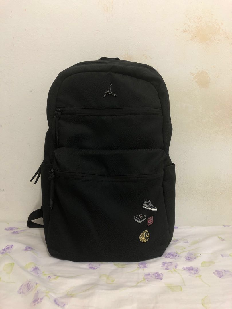 "ad7eae851d0 PRICE REDUCED"" Air Jordan Pin Back Pack urgent sale., Men's Fashion ..."