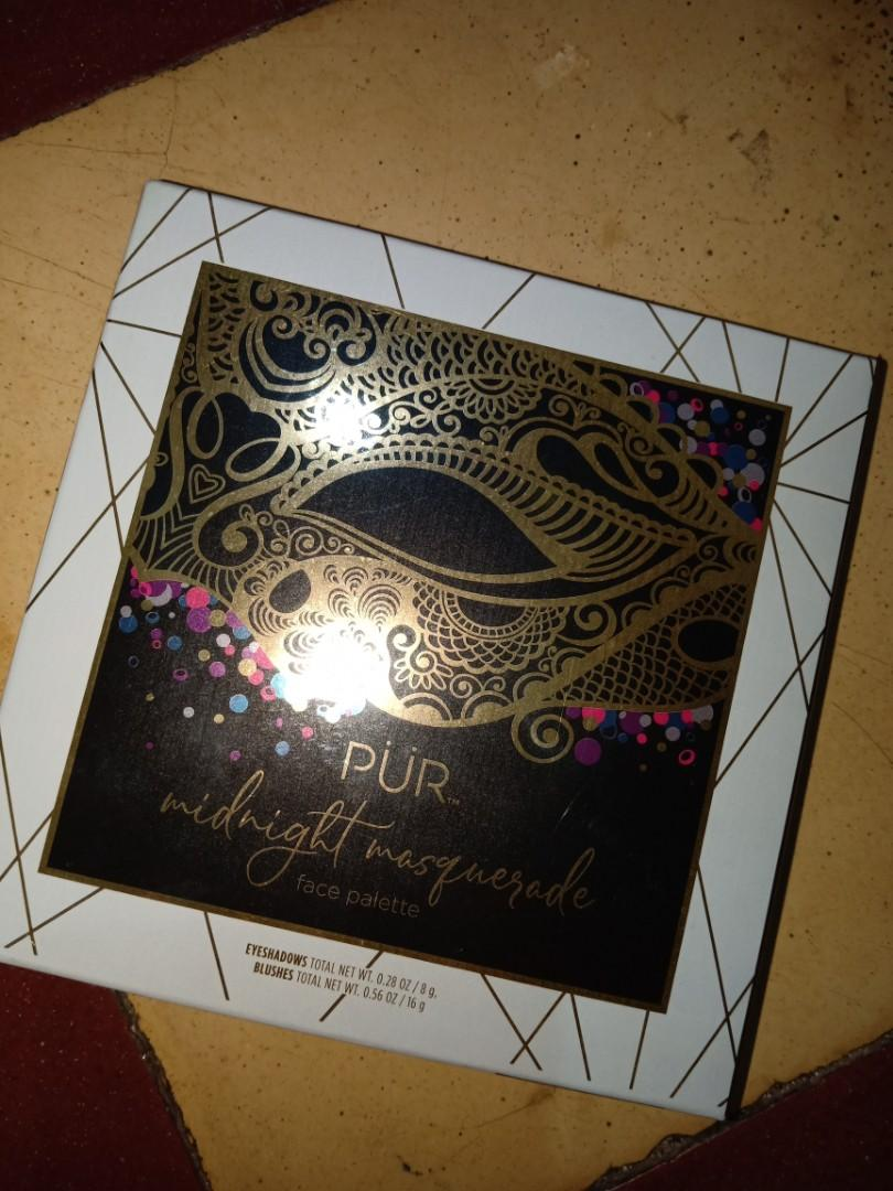 PUR - midnight masquerade (eyeshadows & blushes)