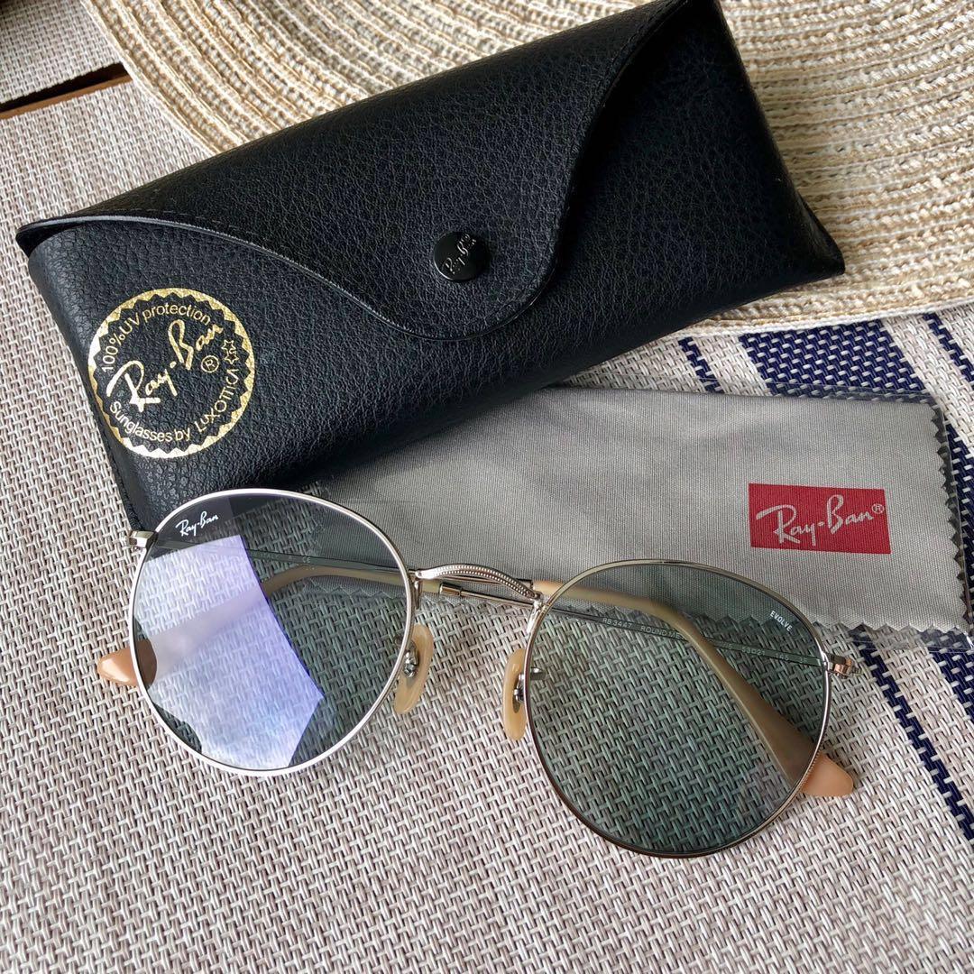 ba0bab371 Rayban unisex round evolve RB3447 Sunglasses, Men's Fashion, Accessories,  Eyewear & Sunglasses on Carousell