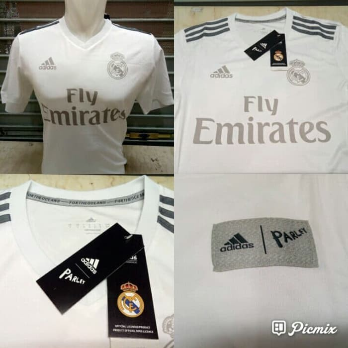 competitive price 03dc6 0b434 Real Madrid Jersey parley 18/19, Sports, Sports Apparel on ...