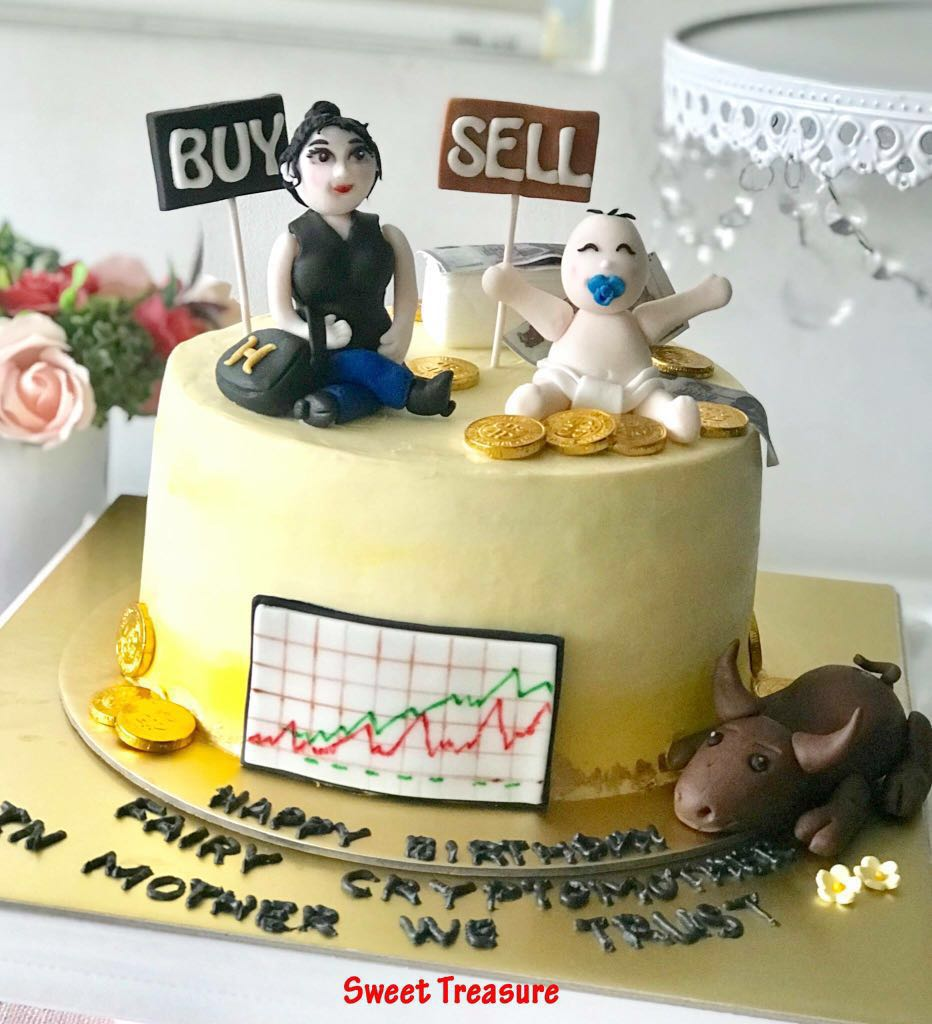 Stock Market Buy Sell Birthday Cake Food Drinks Baked Goods On Carousell