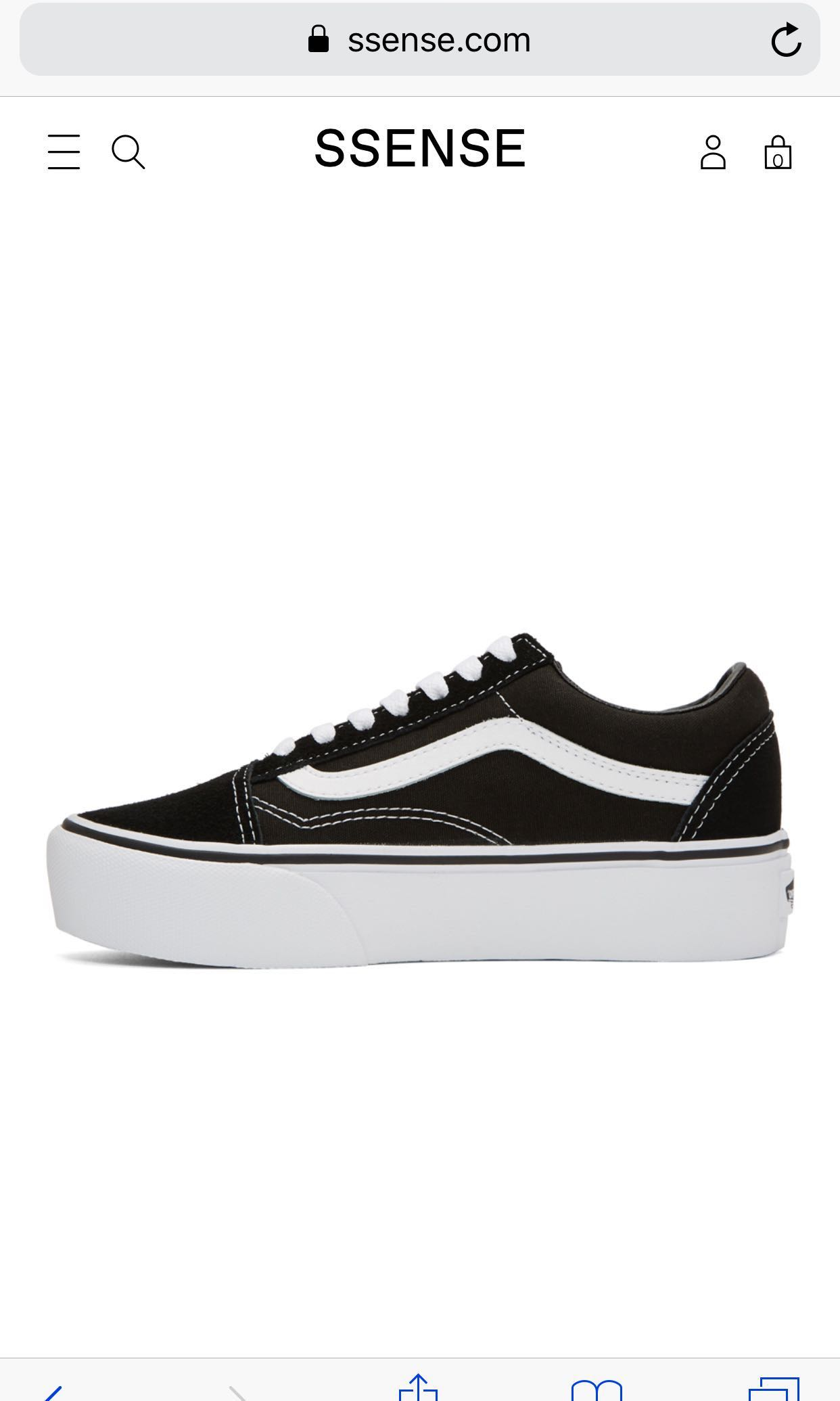 f80e89df179cf VANS Old Skool Platform, Women's Fashion, Shoes, Sneakers on Carousell
