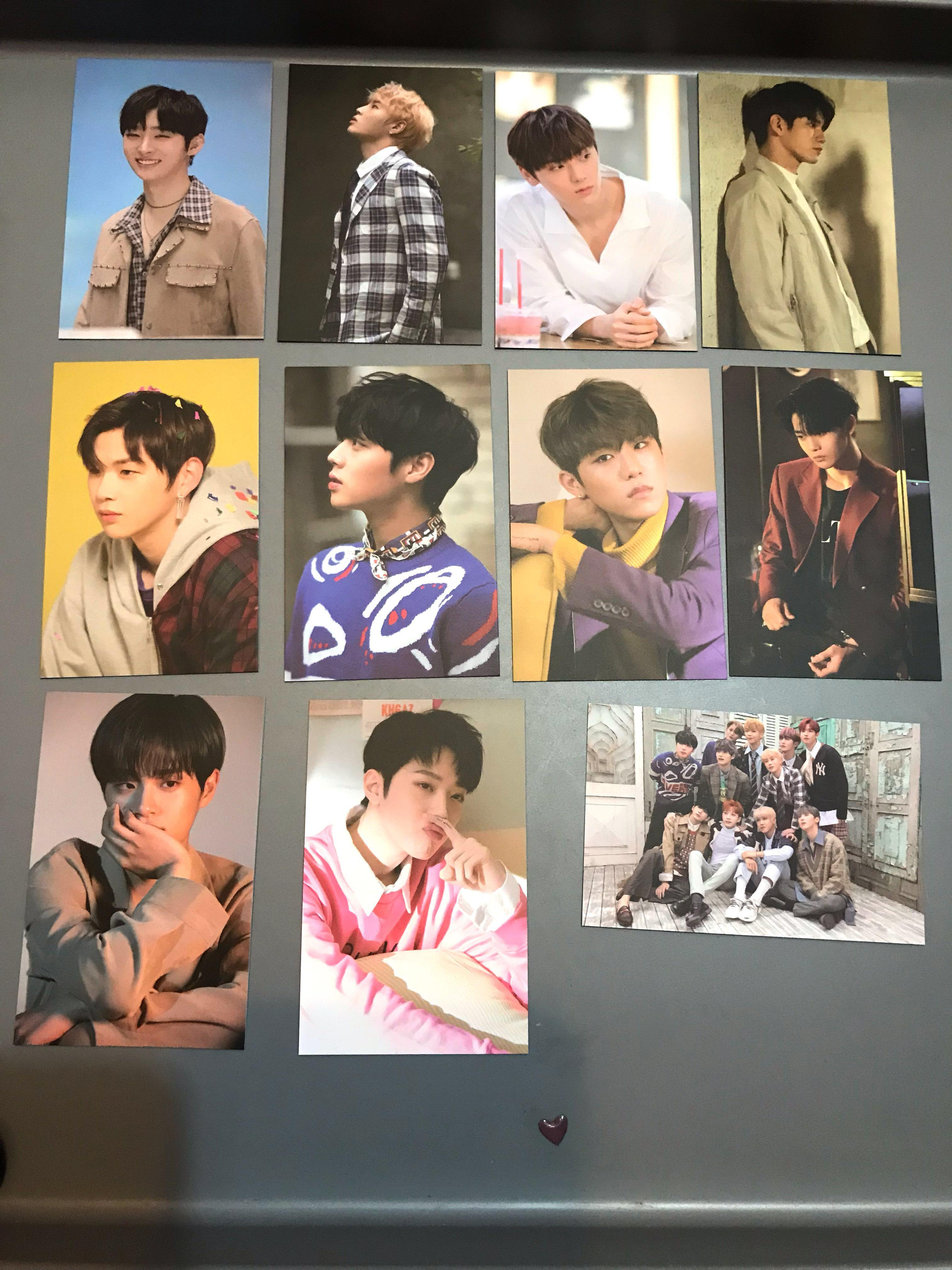 Wanna one Therefore special gift 小卡