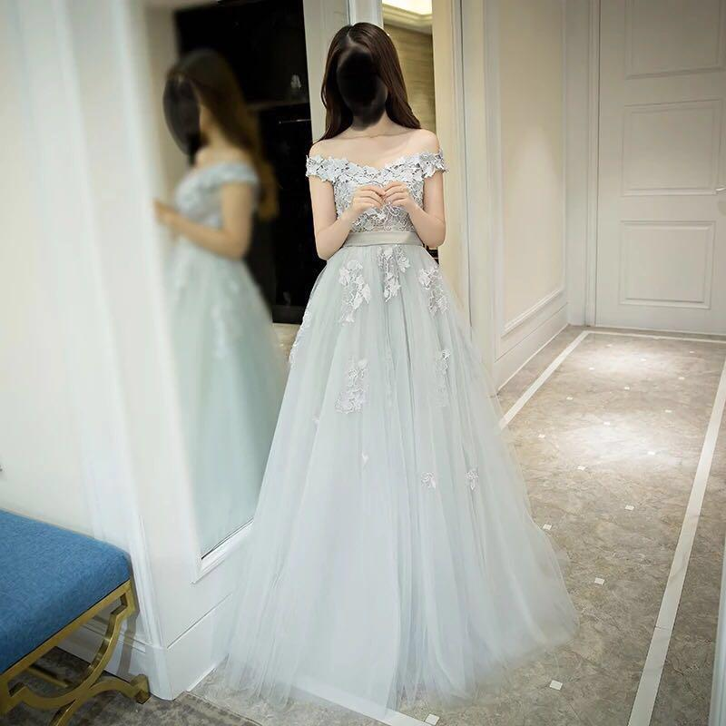 Wedding dress/ evening dress/ prom dress/ cocktail dress