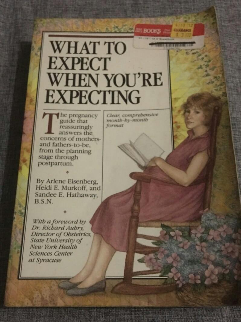 What to Expect when you are Expecting Pregnancy Guide Book