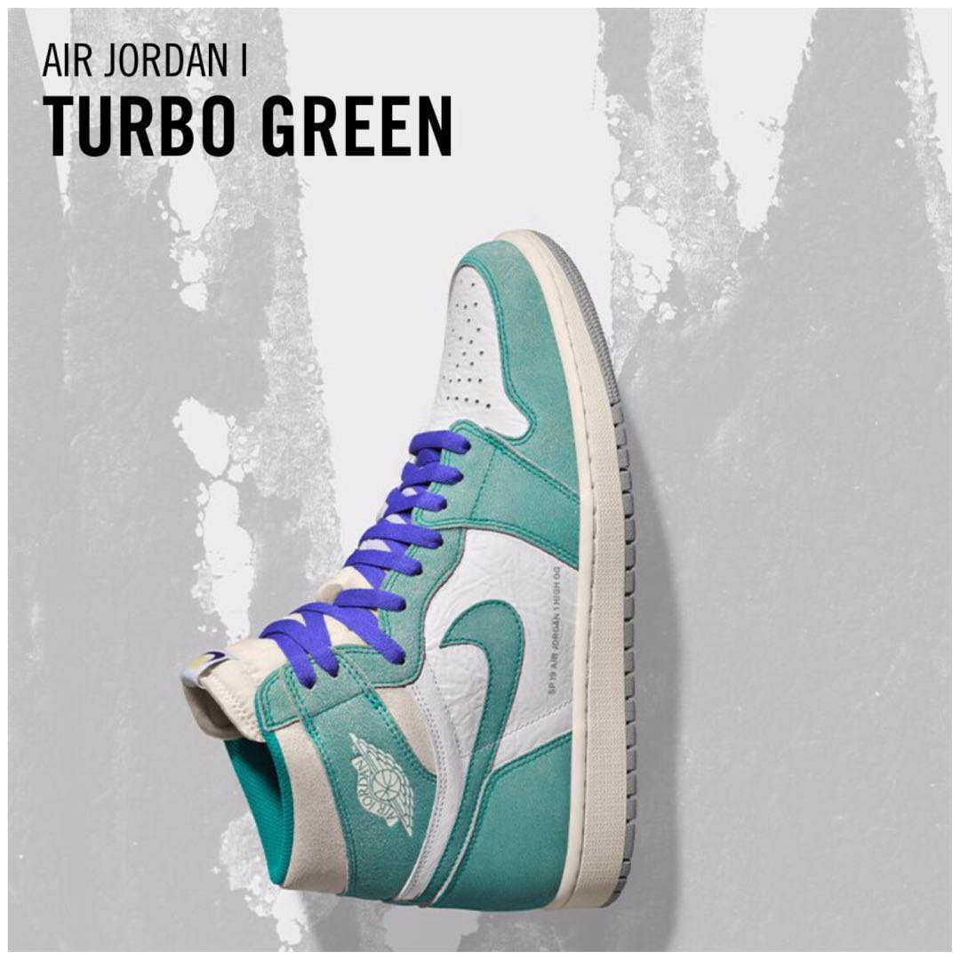online retailer fd749 63996 What would you rate The AJ 1 Retro High OG Turbo Green  , Men s ...