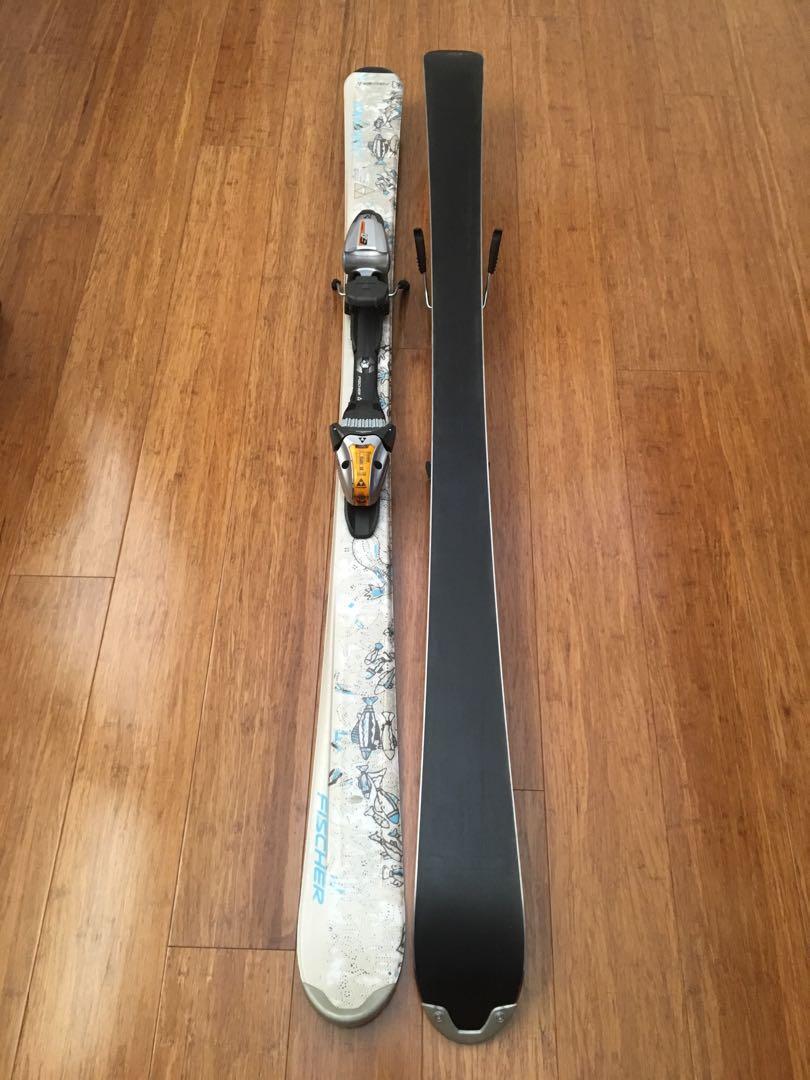 Womens Fischer Vision Secret Skis 140cm - all mountain