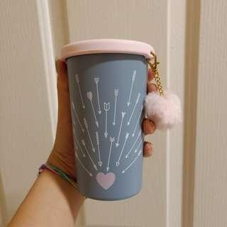 Starbucks Cupid's Arrow Thermos Cup