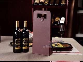 🚚 Wine Hard Case Bag (Double)