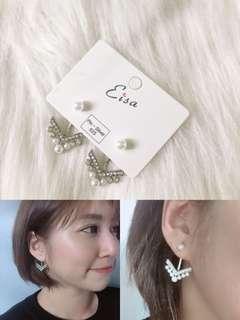 韓劇-男朋友》宋慧喬同款·925純銀耳環