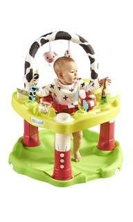 Brand New Evenflo ExerSaucer Activity Center, Mega Playful Pastures