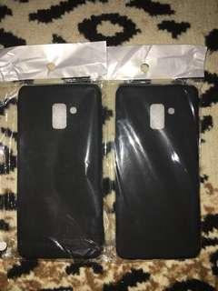Case Black Matte Samsung A8