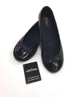 Free Shipping! Payless Safe T Step Comfort Black Shoes