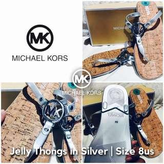 Michael Kors Jelly Thongs Sandals