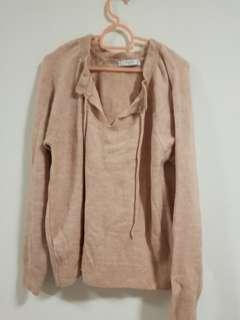 Mango light pink sweater