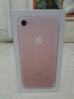 Ex Ibox iphone 7 32gb rosegold fullsett original resmi
