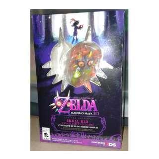 美版 Nintendo 3DS 2015年 限定版 The Legend of Zelda Majora's mask 3D 公仔 1盒 (不包game)