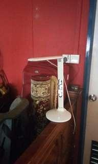 Led light lamp with clock