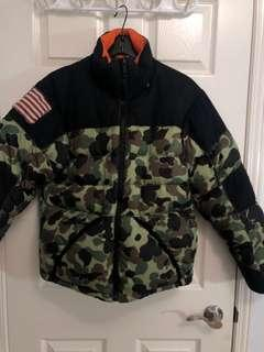Polo - Camo Puffer Jacket