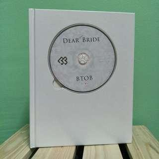 [WTS] BTOB Japanese album DEAR BRIDE